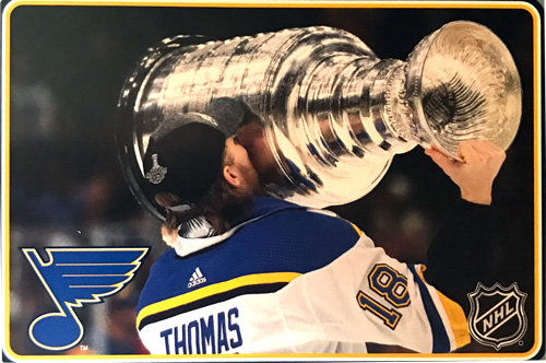 The Stanley Cup is coming!